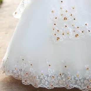 Свадебное платье Bride 890 2012 Плотная ткань Длинный шлейф