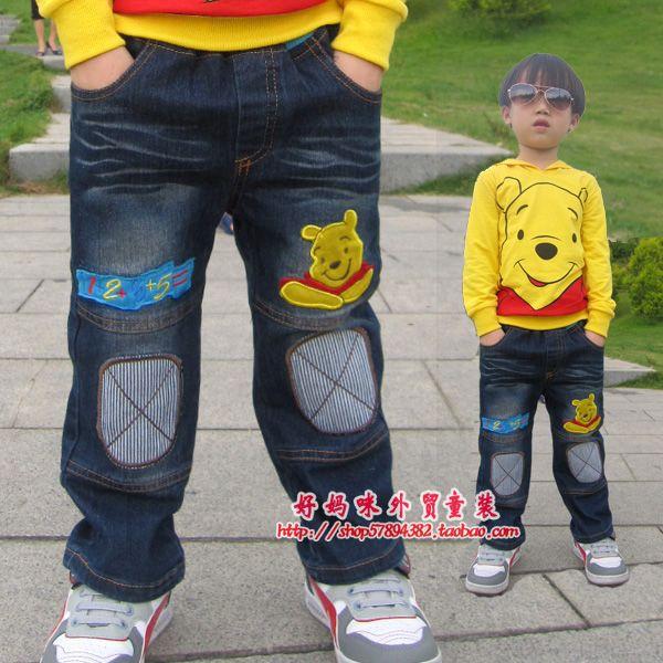 детские штаны Other brands 66633 Other brands Джинсы Повседневный стиль Кожаный пояс на талии
