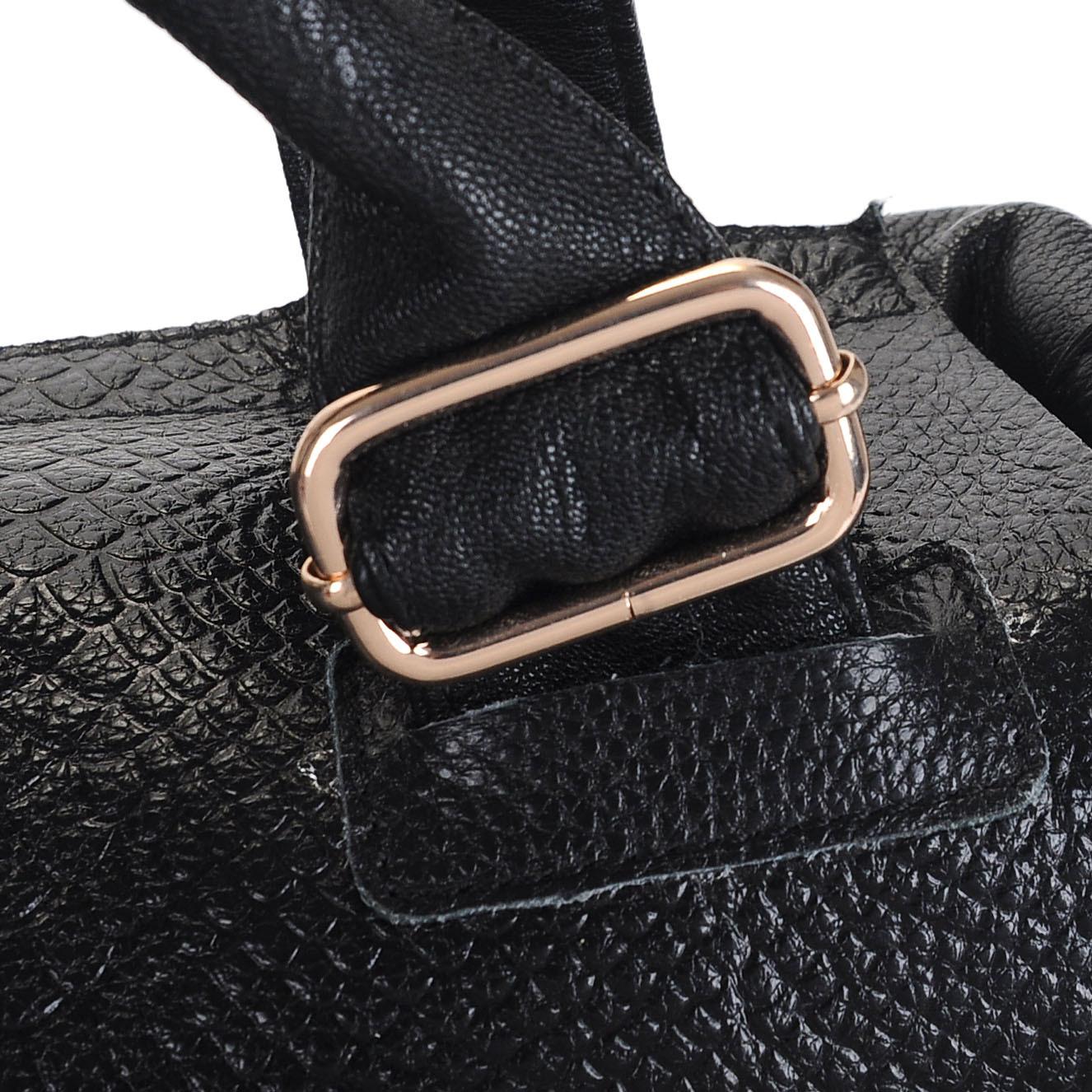 Сумка 1601 2012 Девушки Женская сумка В полоску Кожа быка