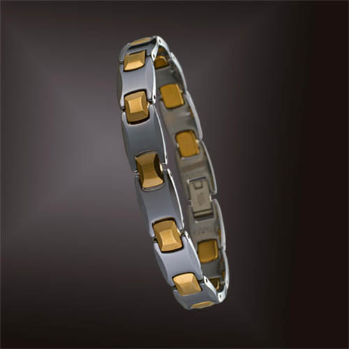 KOTO tungsten Jinbao Jian genuine germanium titanium magnetic bracelet men bracelet Japanese and Korean style magnet radiation health