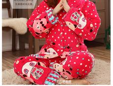 Бренд толстые теплые высокое качество пижамы