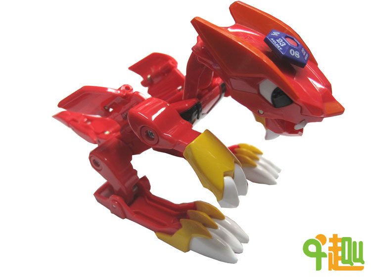Auldey Audi double diamond soul toys full set of broken rock soul full version Super red flame male lion 618001C