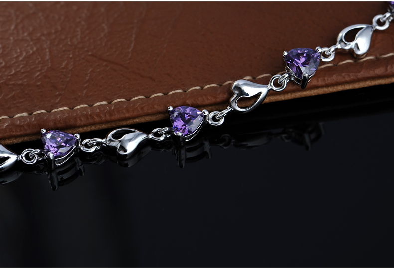 JPF 925 Sterling silver jewelry silver jewelry bracelet female Korean fashion jewelry accessories, birthday girl