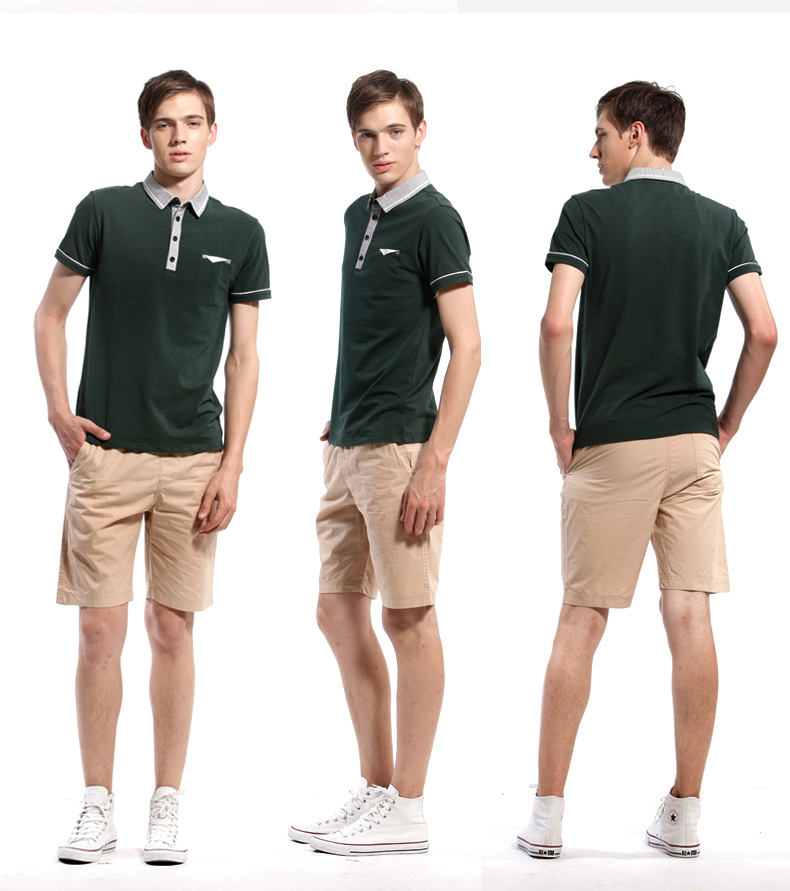 Trend line Loose Thin Cotton Soft Breathable Comfortable Casual Mens Shorts