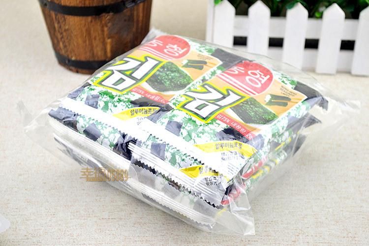 【8月到期!安徽农亨岩烧海苔(烤紫菜)美食20g正品福建了上带种进京舌尖的哪图片
