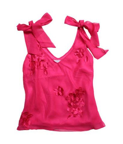 雪纺吊带气质衫 打造你的气质 - 时尚俏佳人 - 时尚俏佳人