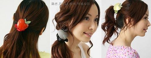 可爱韩国发饰与韩国发型完美搭配 - danxus - D'BLOG