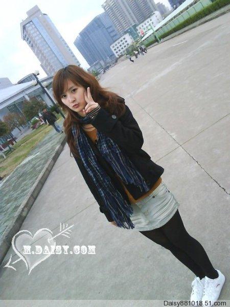 淘女郎淘春装]杭州大学生可爱美女也来秀一秀