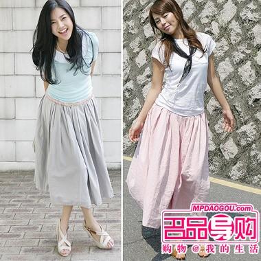 韩国裙子的9种穿法 - danxus - D'BLOG